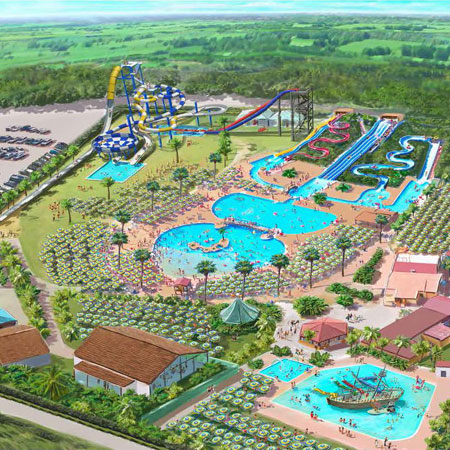 costruzione parchi acquatici