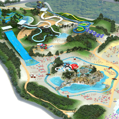 progetto costruzione acquapark
