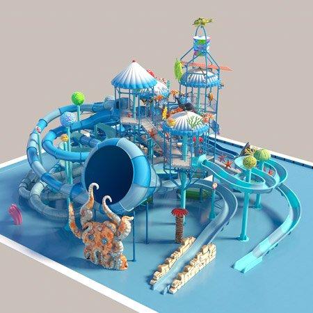 giochi d'acqua castelli water playground