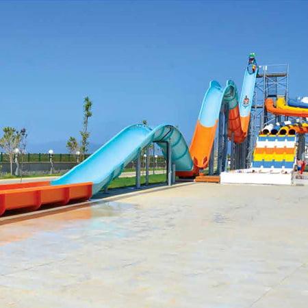 scivoli acquatici water roller coaster