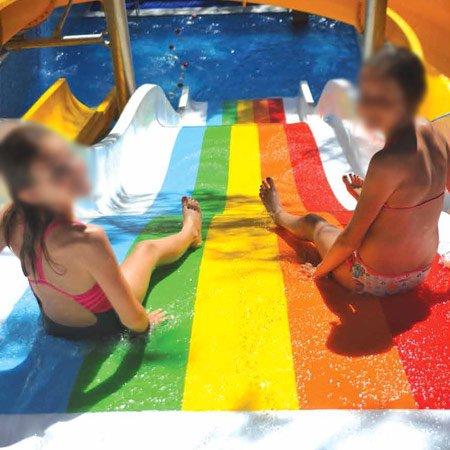 scivolo acquatico baby wide slide