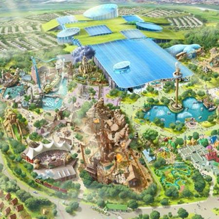 progettazione scenografie parco acquatico