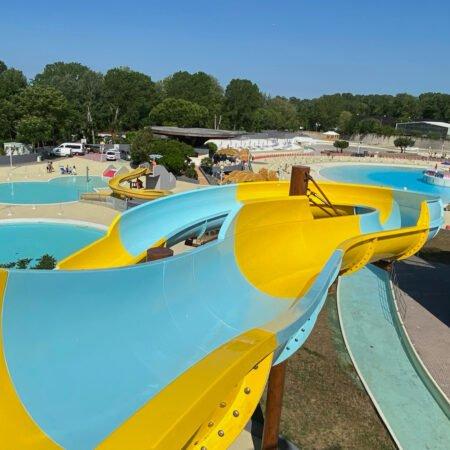 scivolo acquatico rafting slide 1400/2500