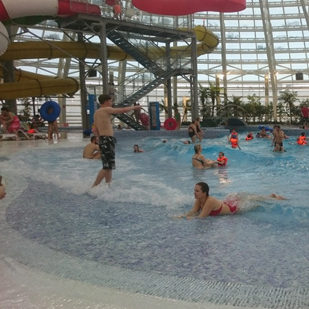 piscine con onde